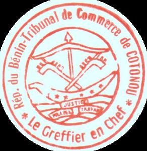 BARRKA S.A.R.L. mit Dienstsiegel Beninisches Handelsregister Cotonou